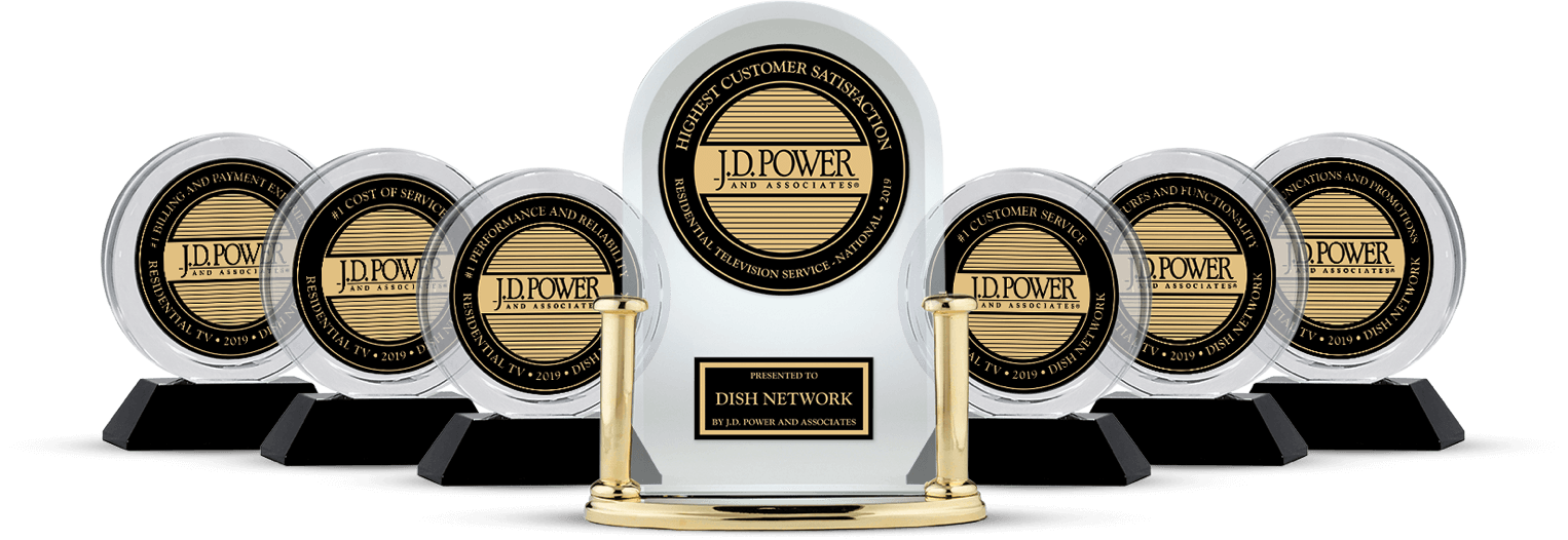 DISH Customer Satisfaction - Ranked #1 by JD Power - Peoria Satellite Co. in Peoria, Illinois - DISH Authorized Retailer